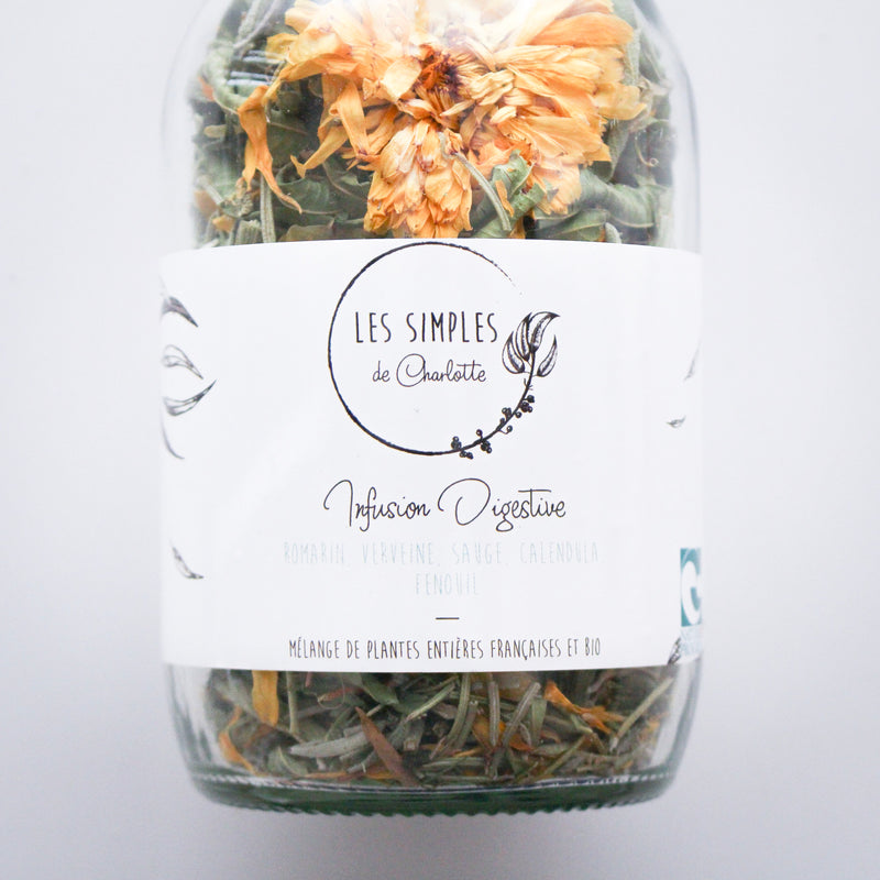 Les Simples de Charlotte - Digestive infusion - organic herbal tea