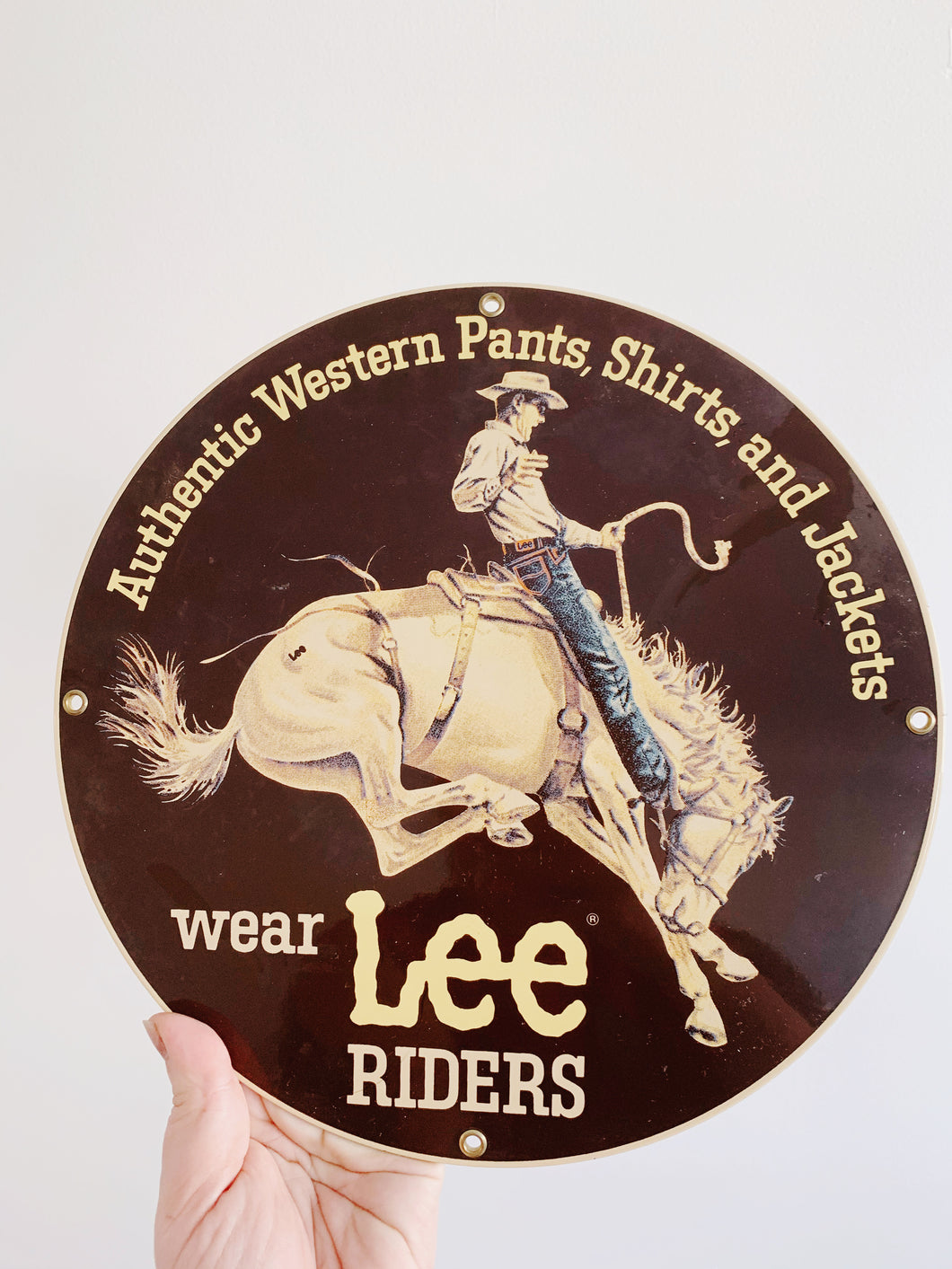 90s LEE Riders Sign