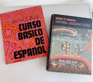 70s Spanish Language Books