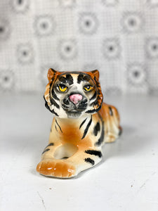 50s Hand Painted Tiger