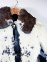 Load image into Gallery viewer, 60s Cropped Fur Coat