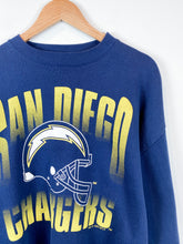Load image into Gallery viewer, 90s Chargers Crewneck