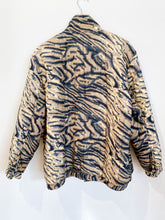 Load image into Gallery viewer, 90s Silk Tiger Jacket
