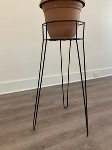 60s Metal Plant Stand