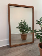 Load image into Gallery viewer, 60s Wooden Mirror