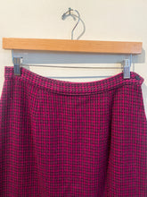 Load image into Gallery viewer, 80s Plaid Wool Skirt