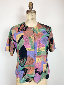 80s Poly Blouse