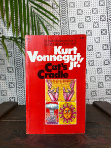 "70's ""Cat's Cradle"" by Kurt Vonnegut Jr."