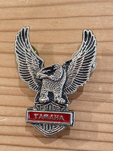 80s HD Yamaha Full Eagle pin