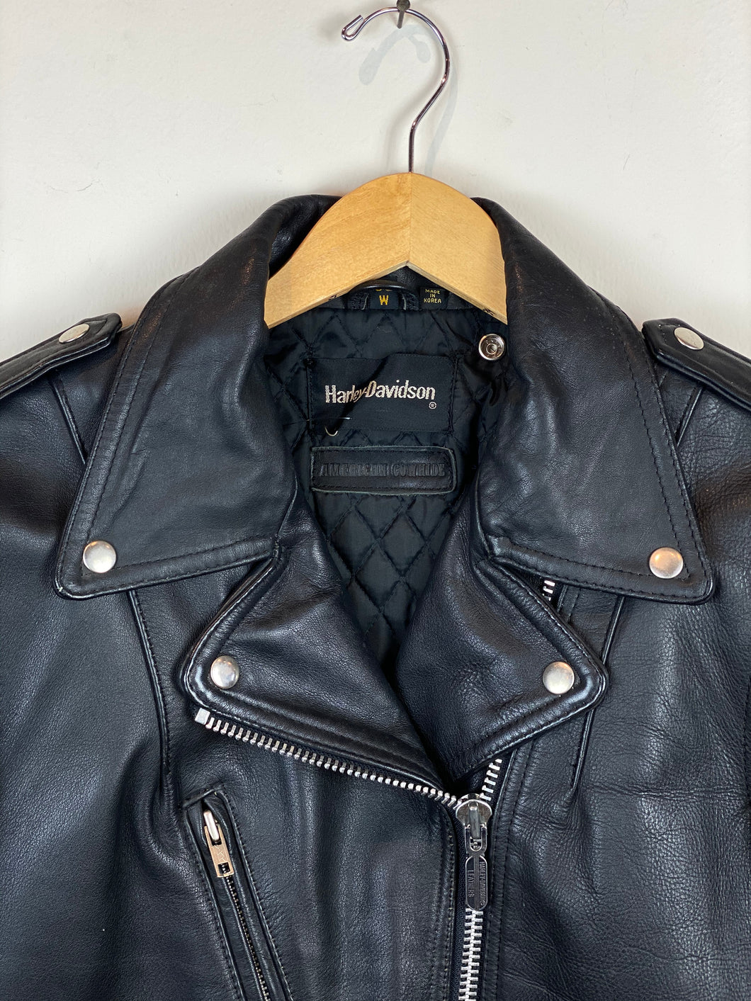 80s Harley Davidson Leather Jacket
