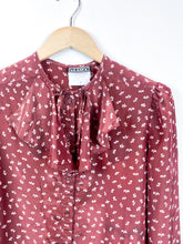 Load image into Gallery viewer, 80s Polyblend Blouse