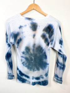 80s Tie-Dye Thermals