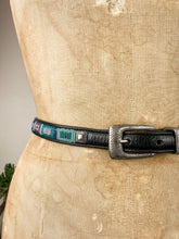 Load image into Gallery viewer, 80s Square Beaded Belt