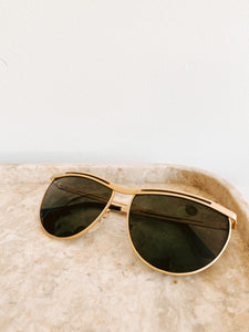 80s Gold Sunglasses