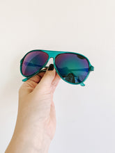 Load image into Gallery viewer, 80s Teal Aviators