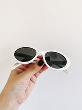 Load image into Gallery viewer, 80s White Fashion Sunglasses