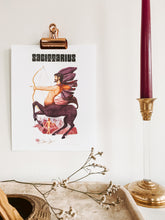 Load image into Gallery viewer, Sagittarius Zodiac Print