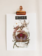 Load image into Gallery viewer, Cancer Astrology Print