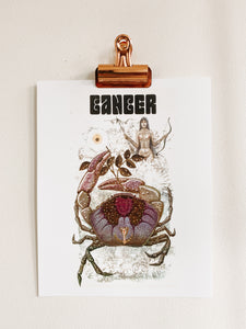 Cancer Astrology Print