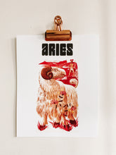 Load image into Gallery viewer, Aries Zodiac Print