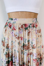 Load image into Gallery viewer, 90s Flowy Floral Skirt
