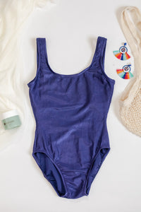80s Ribbed Swimsuit