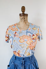 Load image into Gallery viewer, 60s Paisley Print Top