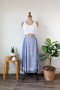 90s EXP Patchwork Skirt
