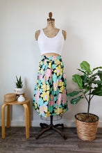 Load image into Gallery viewer, 80s HW Floral Skirt