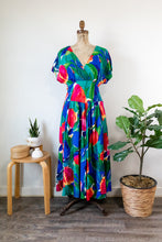 Load image into Gallery viewer, 80s Tropical Dress