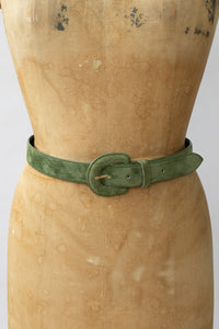 80s Suede Fashion Belt