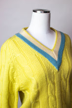 Load image into Gallery viewer, 60s Collegiate V-neck