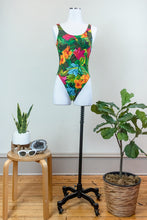 Load image into Gallery viewer, 80s Jungle Flower Bodysuit