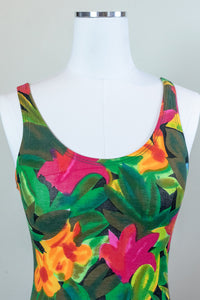 80s Jungle Flower Bodysuit