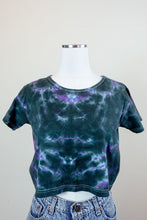 Load image into Gallery viewer, 90s Tie-Dye Crop Top