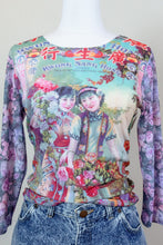 Load image into Gallery viewer, 90s Long Sleeve Hong Kong Shirt
