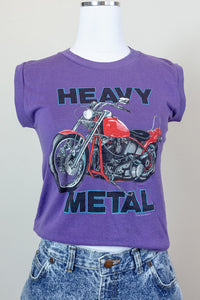 80s Heavy Metal Motorcycle Tee