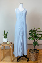 Load image into Gallery viewer, 90s Button Front Denim Dress