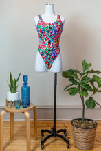 Load image into Gallery viewer, 80s Floral Bodysuit