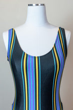 Load image into Gallery viewer, 80s Striped Bodysuit