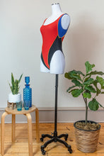 Load image into Gallery viewer, 80s Color Blocked Bodysuit