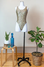 Load image into Gallery viewer, 80s Cheetah Bodysuit