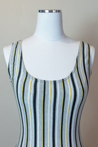 80s Striped Bodysuit