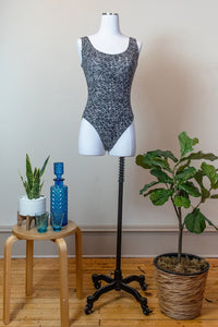 80s Black & White Bodysuit