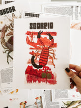 Load image into Gallery viewer, Scorpio Zodiac Print