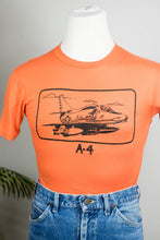 Load image into Gallery viewer, 70s A-4 Navy Tee