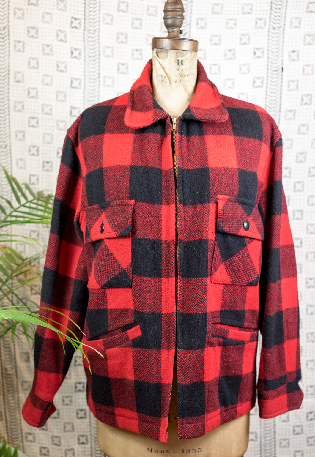 60s Flannel Coat