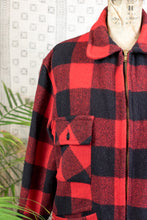 Load image into Gallery viewer, 60s Flannel Coat