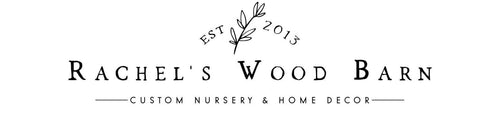 Rachel's Wood Barn Logo
