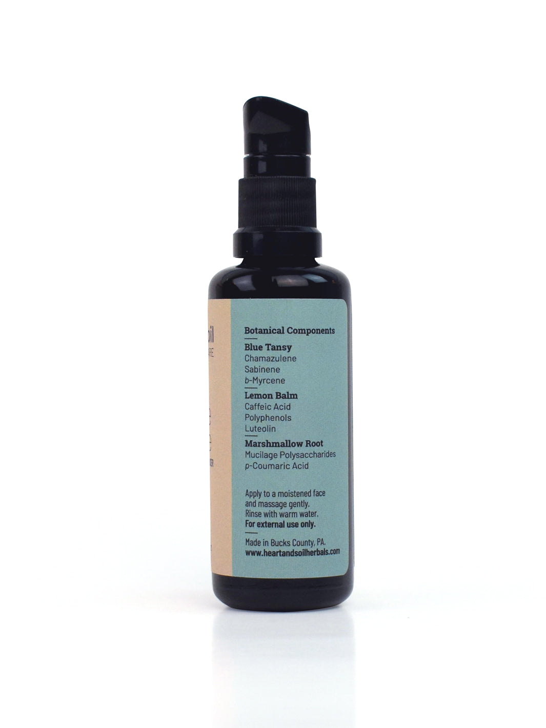 Gentle Gentle Herbal Facial Cleanser w/ Blue Tansy (50ml)